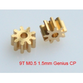 9T M0.5 1.5mm shaft pinion gear