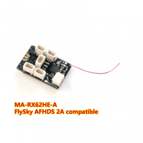Ma-RX62HE FlySky AFHDS 2A compatible receiver built-in 7A 2S ESC